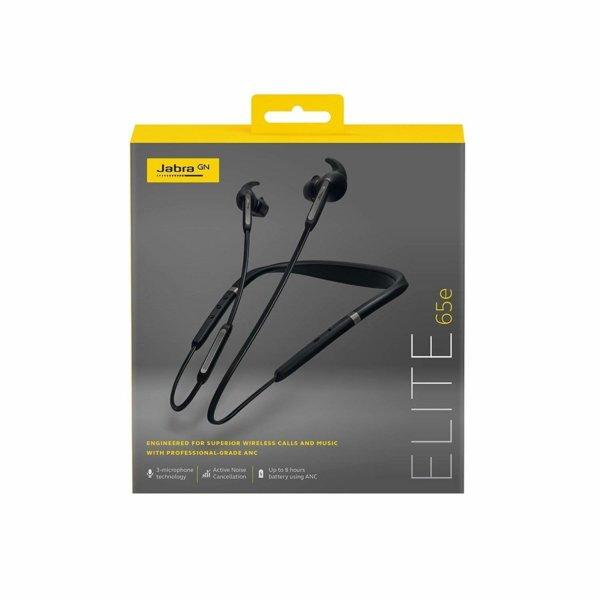 Jabra Elite 65e Wireless in-Ear Headphones with ANC (Titanium Black)-1508