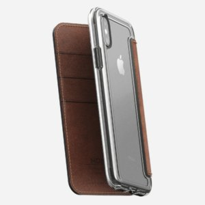 "Nomad Case for Apple iPhone X (5.8"") Clear Folio -0"