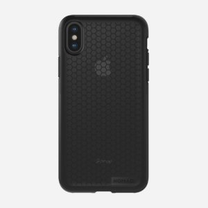 Nomad iPhone X Hexagon Case - Mil-Spec Drop Protection, Dual Material Construction(Black)-0