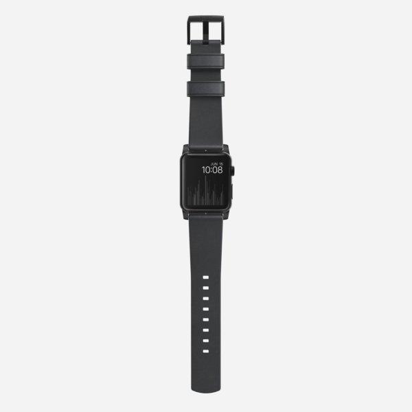 Nomad Horween Modern Strap Black Hardware-1645