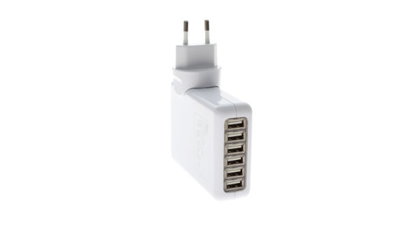 6usb travel charger