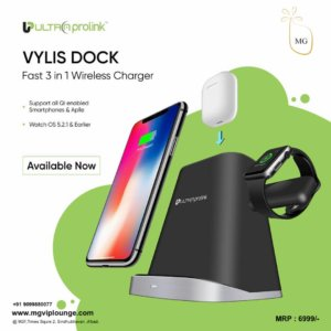 10W 3-IN-1 FAST WIRELESS CHARGING DOCK FOR APPLE UM1006