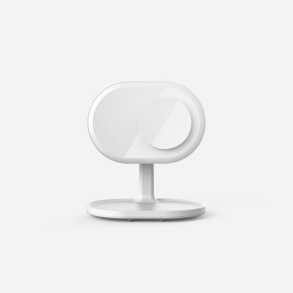 Q.Led Mirror with Wireless Charging and Bluetooth Speaker (ENG)
