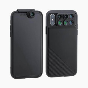 6-in-1 MultiLens Case with Front Facing Lens for iPhone Xs