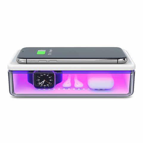 UV Sterilizer + Wireless Charger