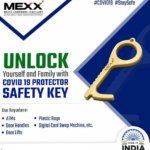 PROTECTION KEY (PURE BRASS)