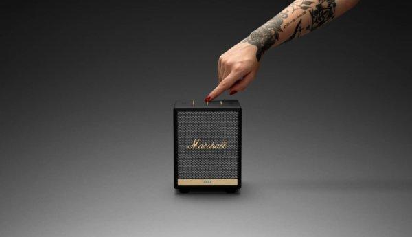 Marshall UXbridge Home Voice Speaker With Amazon Alexa
