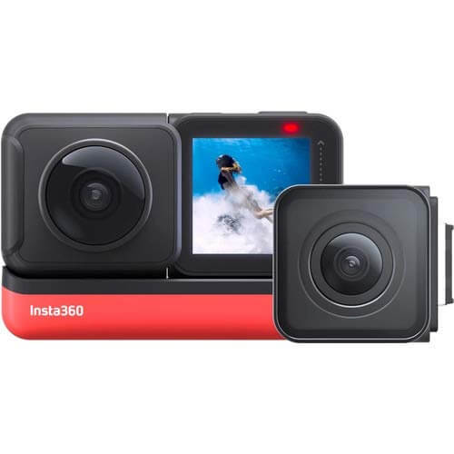 Insta360 ONE R Twin Edition Interchangeable Lens Action Cam