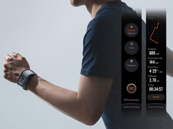 Nubia Watch, A Futuristic Flexible Display Smartwatch