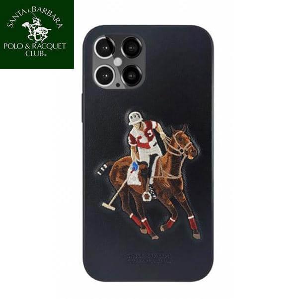 iPhone 12 Pro Max Jockey Series Genuine Santa Barbara Leather Case