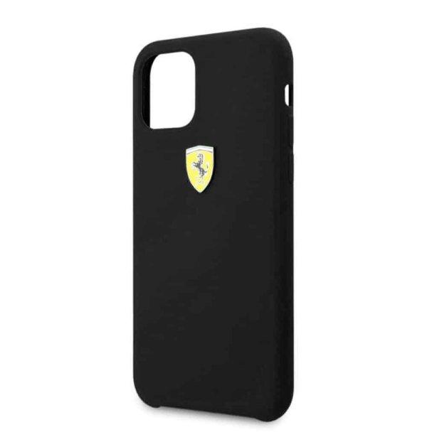 Ferrari Apple iPhone Silicone Velvet Touch For iphone 12 Series