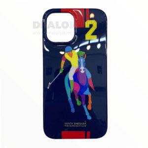 Santa Barbara Polo Racquet Jockey Series iPhone 12 Series – High Gloss, Blue