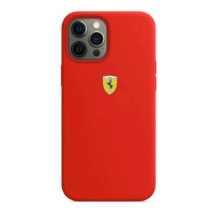 Ferrari Apple iPhone Silicone Velvet Touch For iphone 12 Series