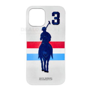 Leather Santa Barbara Polo Racquet Jockey iPhone 12/12Pro Series