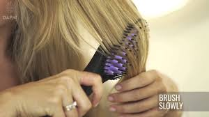 DAFNI go® Hair Straightening Brush
